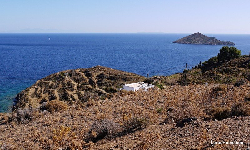 building plot for sale near Vourlidia, Leros