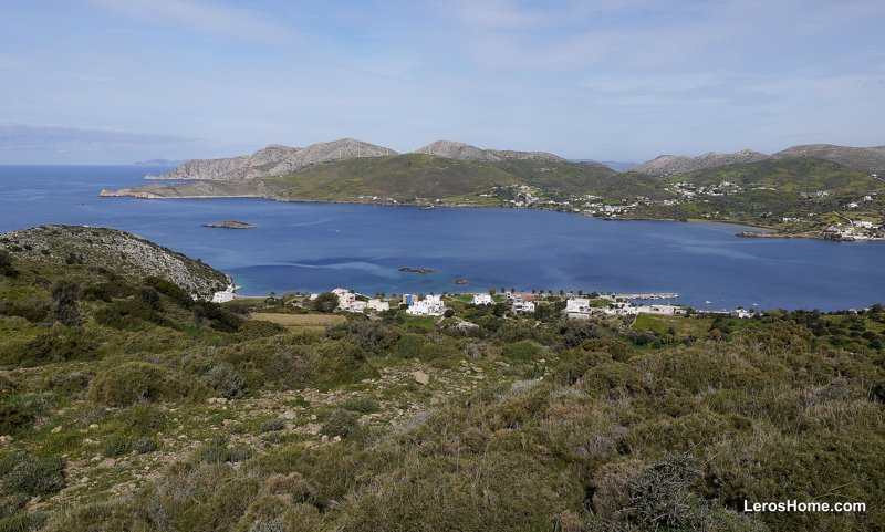 land for sale in Agios Petros, Leros