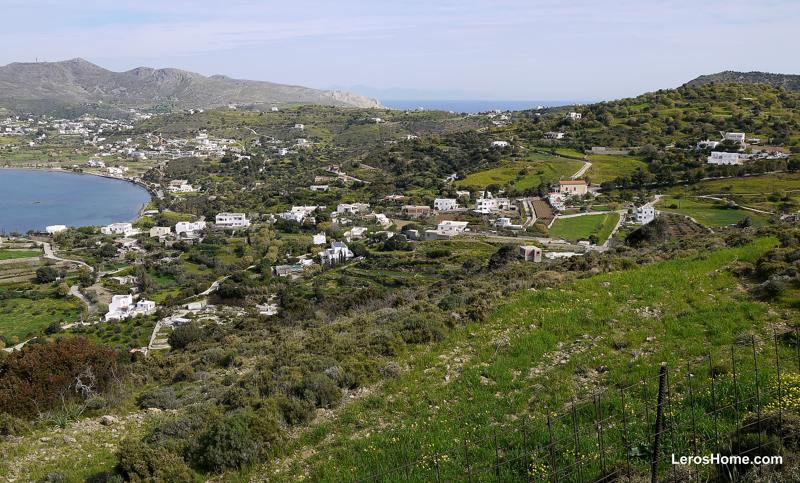 plot for sale in Moni, Leros