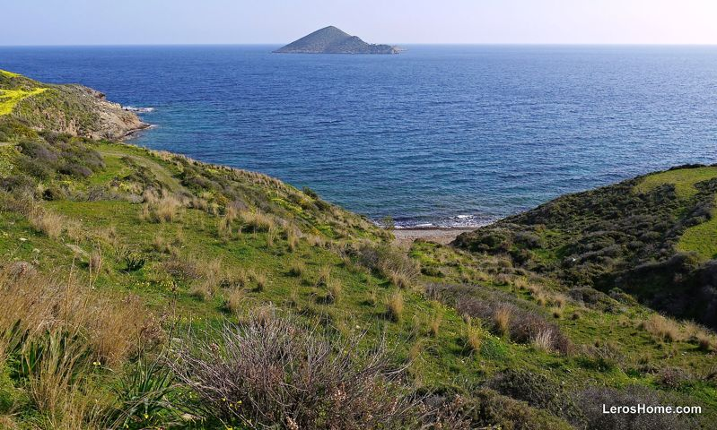 land for sale near Vourlidia, Leros
