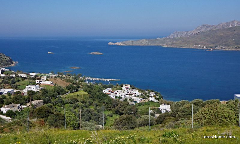 building plot for sale in Drymonas, Leros