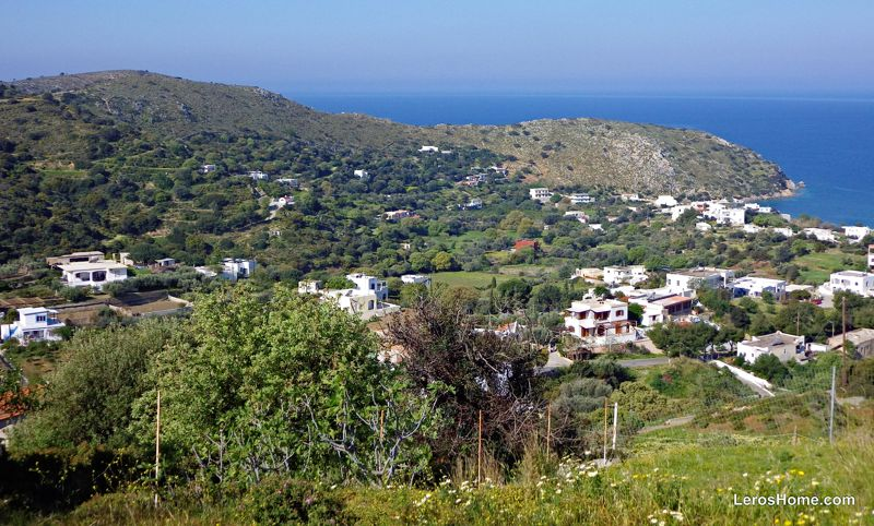 land for sale in Drymonas, Leros
