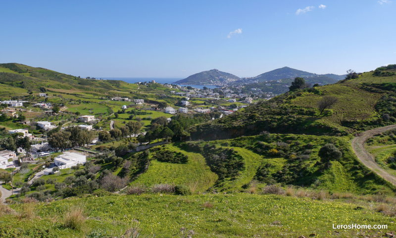 land for sale in Kamara, Leros