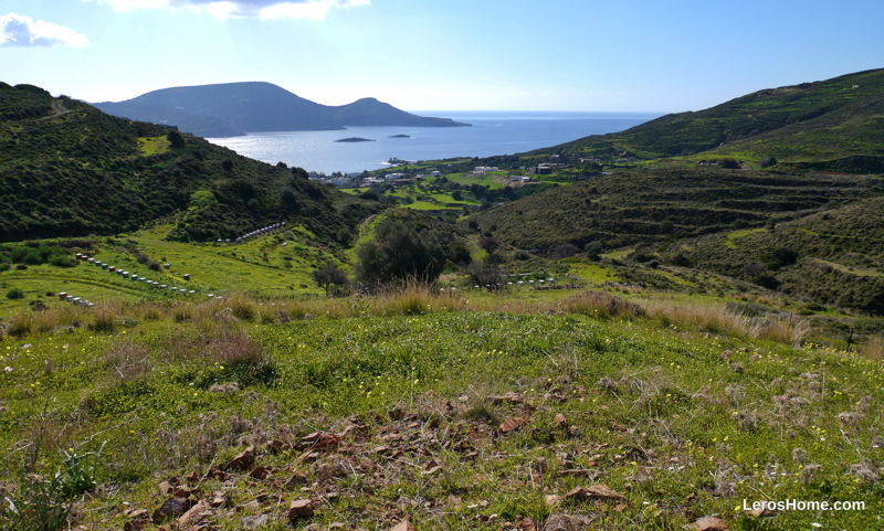 building plot for sale in Kamara, Leros