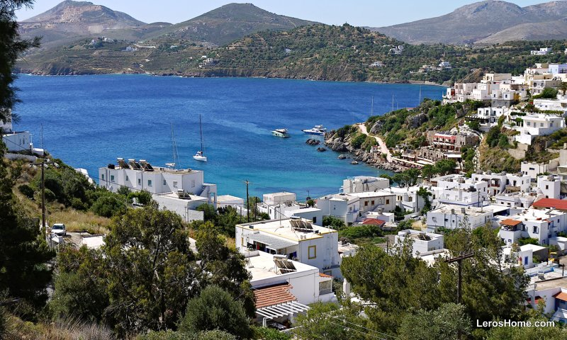 building plot for sale in Pandeli, Leros
