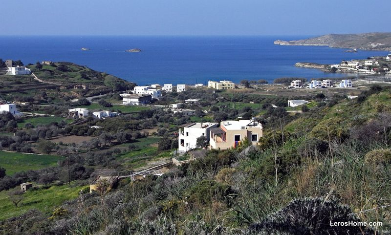 plot for sale in Rachi, Leros