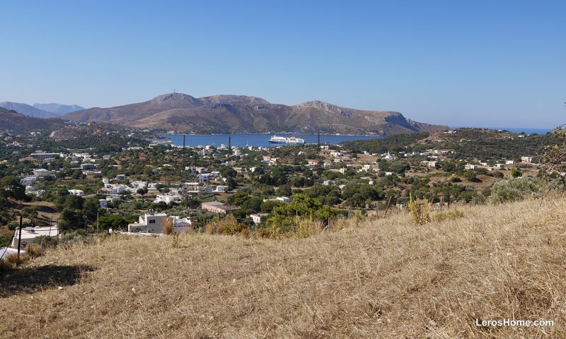 land for sale in Vromolithos, Leros