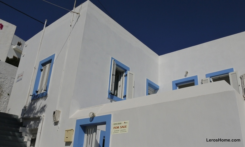 house in Spilia, Leros